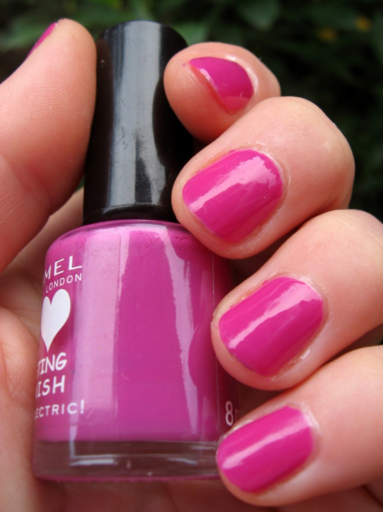electric purple nail polish - photo #21