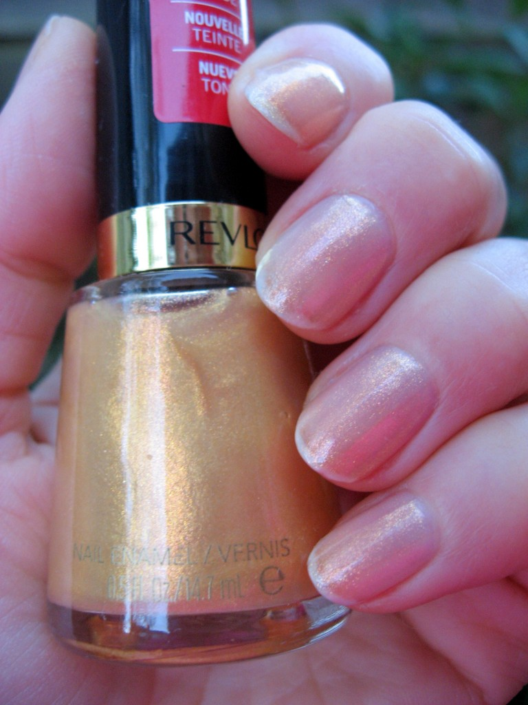 Revlon 'Gold Coast' swatch