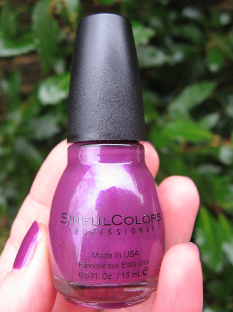 Sinful Colors 'Fig' nail polish