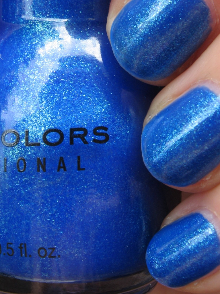Sinful Colors 'Blue by you' nail polish swatch
