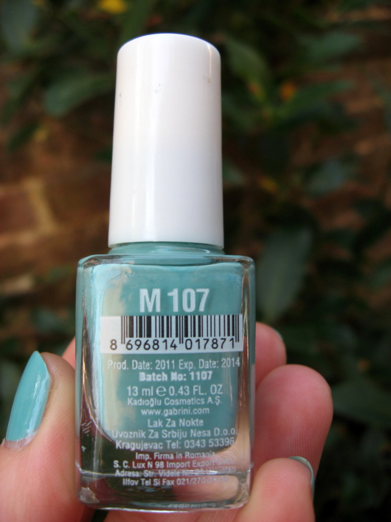 Gabrini Multivitamin M107 nail polish