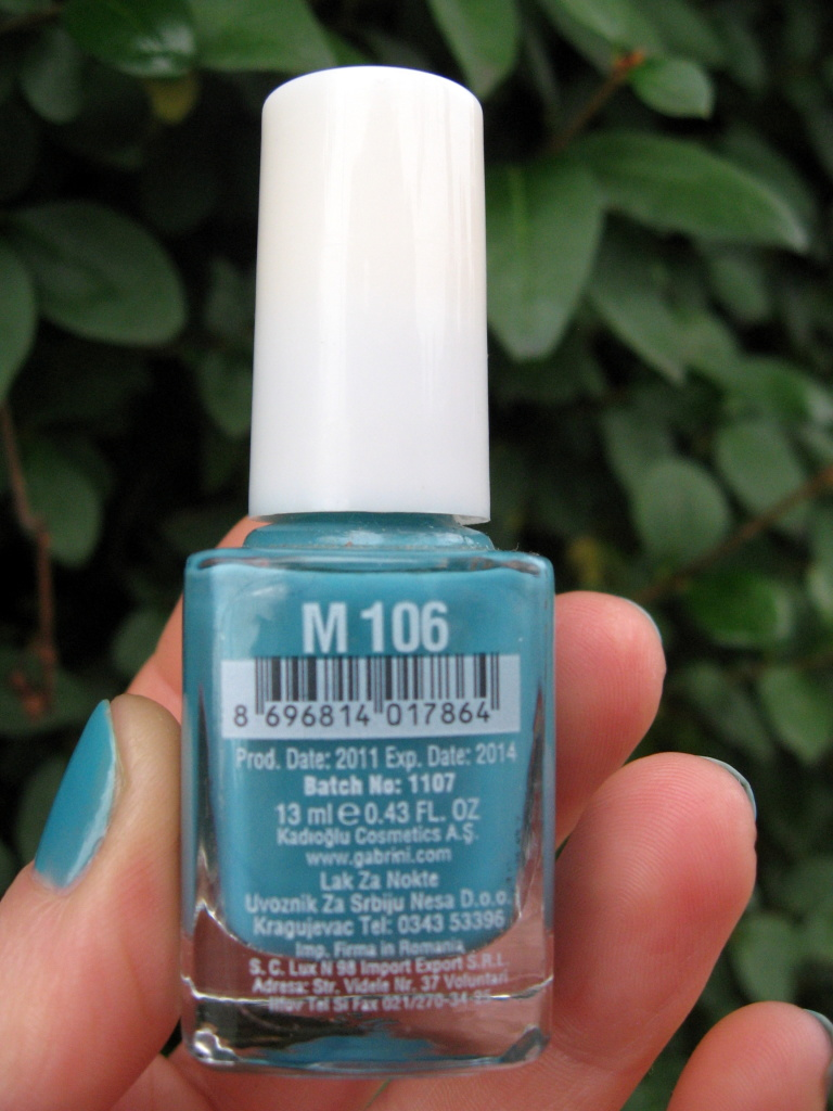 Gabrini Multivitamin M106 nail polish