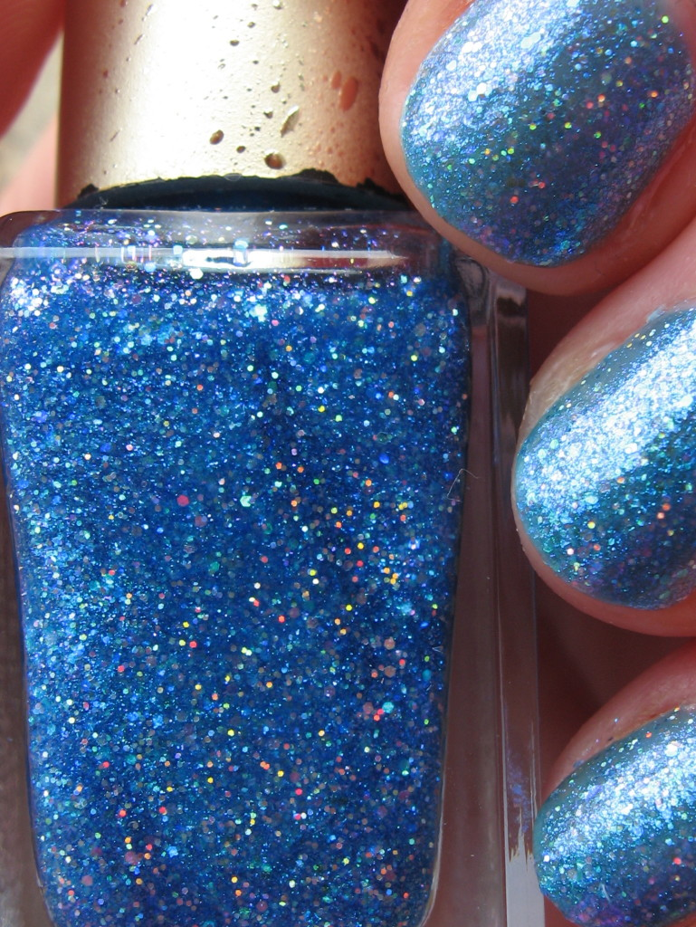Barry M 'GTNP 5, VIP 451' nail polish swatch