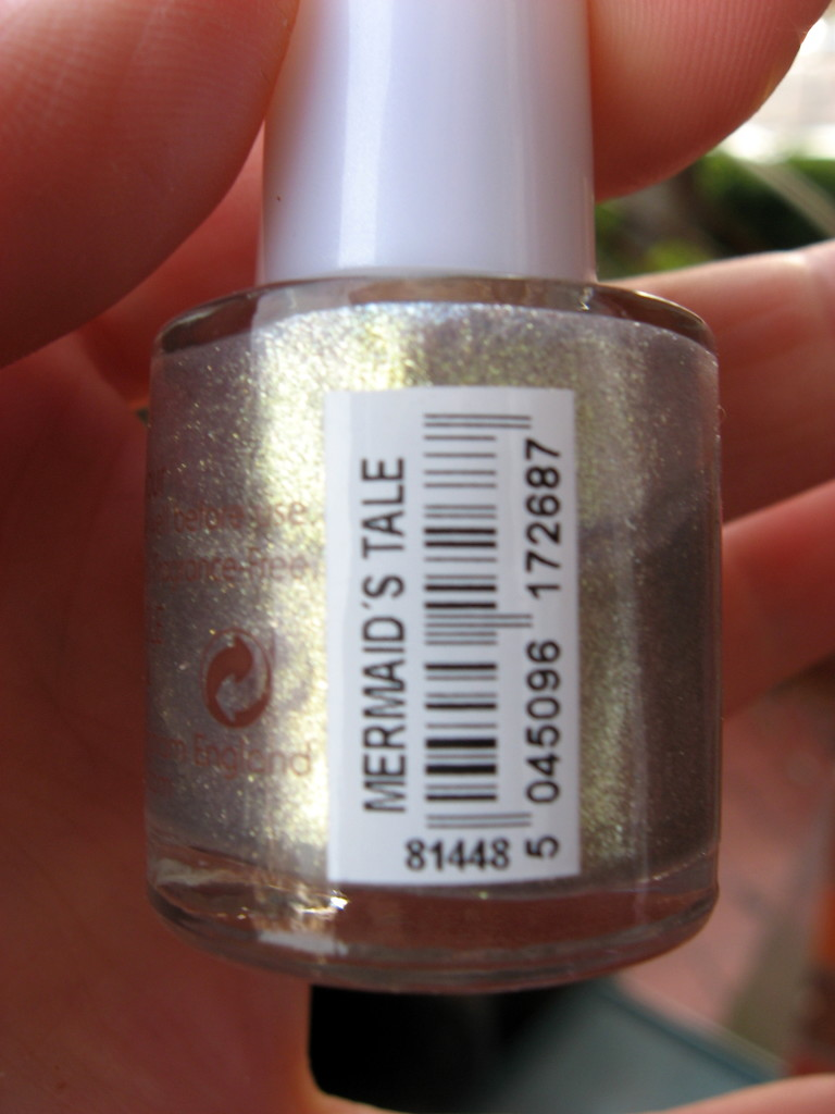 Natural Collection 'Mermaid's Tale' nail polish