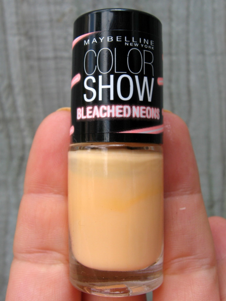Maybelline Bleached Neons 'Sun Flare' nail polish