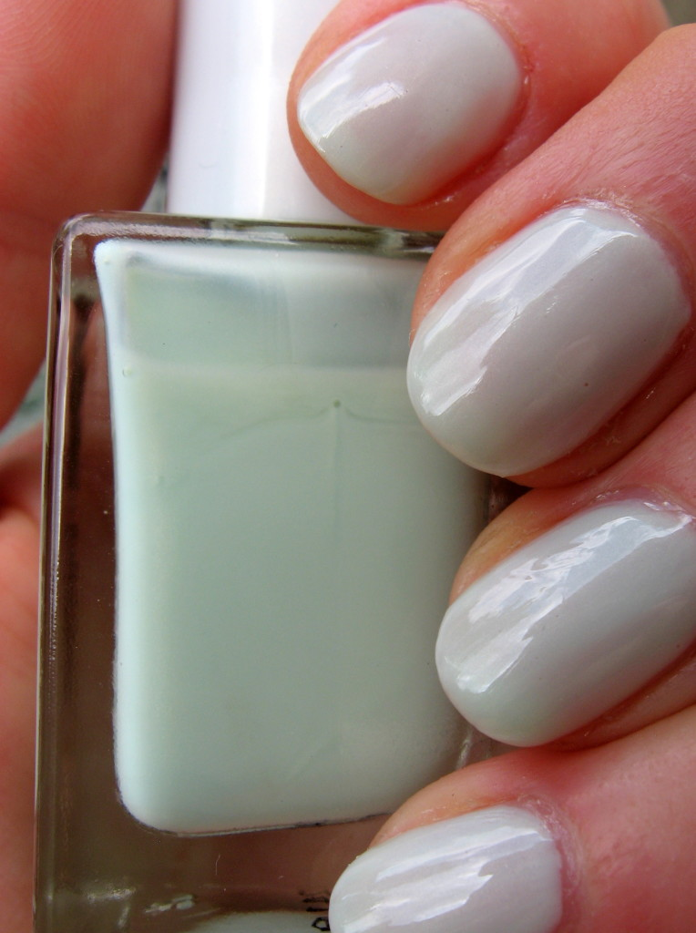 Sally Hansen Smooth and Perfect 'Sea' nail polish swatch